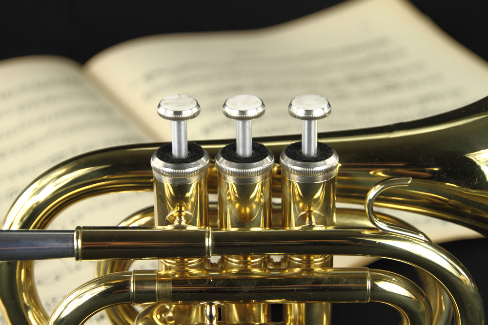what key is a trumpet in